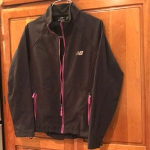 New Balance athletic jacket, large, light yet warm